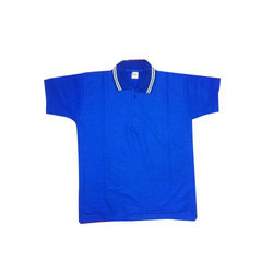 Blue Cotton Kids Half Sleeve T-Shirt