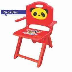 Multicolor Panda Plastic Chair, Size: Small
