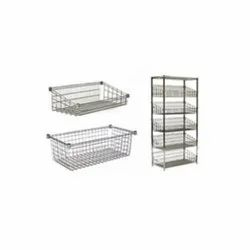 Welcraft Stainless Steel Wire Shelf, Size: 900 X 360 Mm, For Home