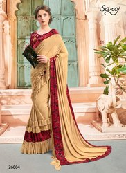 Designer Fancy Wear Sarees
