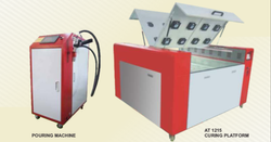 UV Curing Machine And Glue Pouring Machine