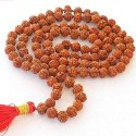 SSGJ 5mm to 10mm Beads Rudraksha Mala Shree Shyam Gems And Jewellery