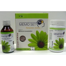 Memory Enhancer Capsule & Syrup Pack