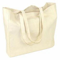 KBK Plain Cotton Jhola Bag, Capacity: 5-10 Kg