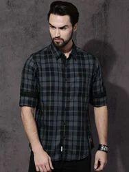 Men's Checkered Casual Shirt