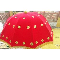 Varmala Theme Velvet Umbrella