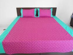 Fancy Printed Double Bedsheets