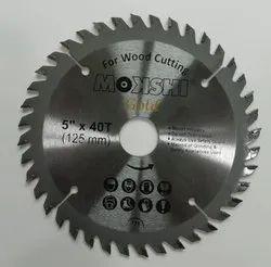Mokshi 5 Inch TCT Wood Cutting Blade, For Cross-Cutting