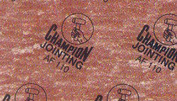 Champion AF Jointing Sheets