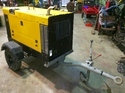 Shine Yellow Dc Portable Welding Generator With Auxiliary Supply, Shine Wel Gen