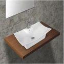 Ceramic White Stylish Table Top Basin