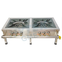 Double Burner Gas Stove SS Top Frame