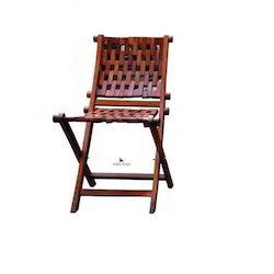 Wooden Brown Folding Chair