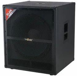 Rms 800 Watt / Peak 1600 Watt Studiomaster DJ Bass Box, Model Number: Elan 181, Size/Dimension: 585 X 565 X 665 Mm
