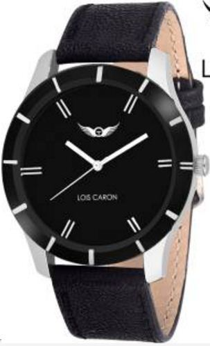6cc869038 Lois Caron Lck 4042 Black Splendid Analog Watch at Rs 430  piece ...