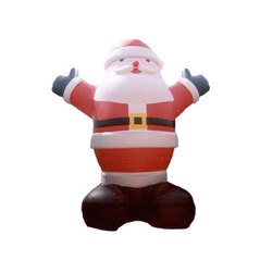 X Mas Inflatable Santa 2004