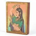 Artistic Gemstone Ragini Printed Jewellery Box