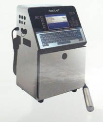 Black Continuous Inkjet Printer, For Barcoding, Automatic Grade: Automatic