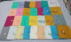 Border Multicolor Lucknowi Chikankari Cotton Saree, With blouse piece, 6.3m