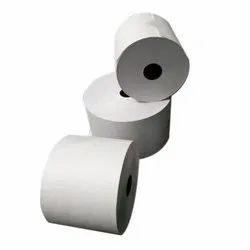Plain White Thermal Paper Billing Roll, GSM: 75