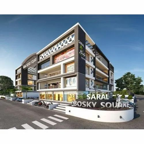 Shopping Complex Architectural Designing Service