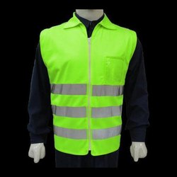 Green Reflective Safety Jacket