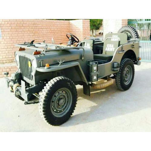 Green Army Willys Jeep, Rs 350000 /piece, Indian Jeep