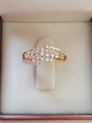 Fancy Real Diamond Ring