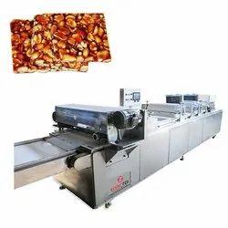 Peanut Chikki Sheeting and Cutting Machine
