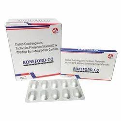 Cissus Quadrangularis 500 Mg Tricalcuim Phosphate 375 Mg