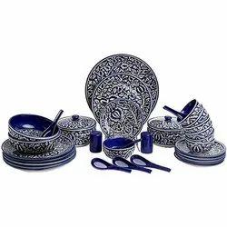 Printed Ceramic Dinner Set