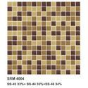 Brown Random Mix Glass Mosaic Tiles