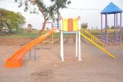 FRP Playground Curve Slide RH SE-011