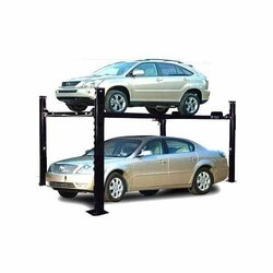 Sharp Four Post Parking Lift