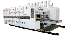 Computerized Two Color Printing Slotting Die Cutting Machine