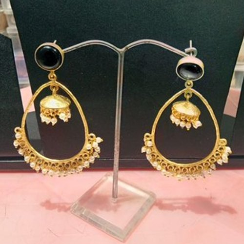 6d1cc754628 Ladies Golden Artificial Earrings