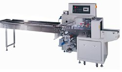 Ice Candy Horizontal Flow Wrapper Machine
