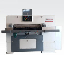 Semi - Automatic Paper Cutting Machine With Three Motors