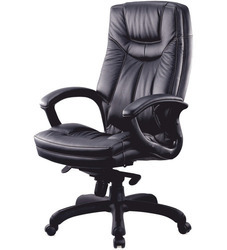 Aares Black Revolving Chairs, For Office