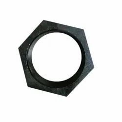 Round Cast Iron Nut, For Structure Pipe, Hydraulic Pipe