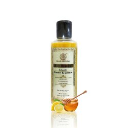 Khadi Honey & Lemon Shampoo 210 mL, Packaging Type: Bottle