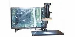 Microscope MT--103 With Light,Lens And Baba FHD 303 Camera