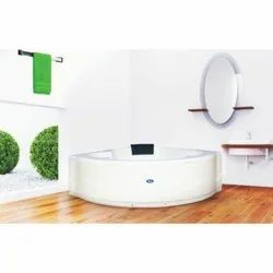 Albaasta Pure Brilliance Massage Corner Bath Tub