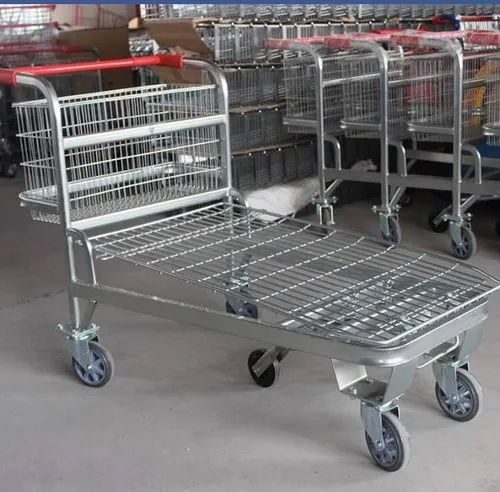 Warehouse Luggage Trolley