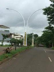 Median Decorative Conical Pole