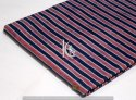Multi Color Dabu Hand Block Print Cotton Strip Fabric