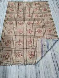 Big Block Vintage Kantha Quilt