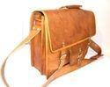 Genuine Leather Office Briefcase Shoulder Bag