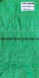 Green Plastic Tarpaulin