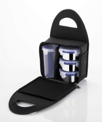 Stainless Steel Lunch Box with Tumbler